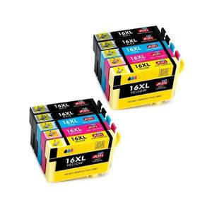 CARTOUCHE IMPRIMANTE 15 Pack Compatible Epson 16 16XL Grande Capacità C