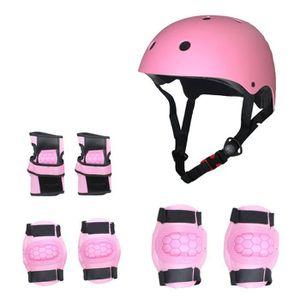 CASQUE MOTO SCOOTER Enfants Sports équipement de Protection 7 in 1 Kit