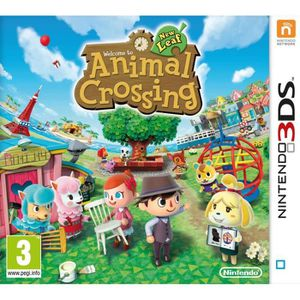 JEU 3DS ANIMAL CROSSING : NEW LEAF [IMPORT ALLEMAND] [J…