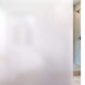 argent noir en film de fenêtre verre teinte collant plastique arrière Confidentialité total blanc