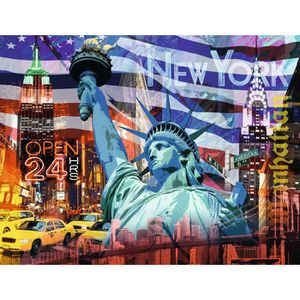 PUZZLE New York Collage - Ravensburger 2000 Pieces