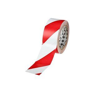 RUBAN ADHÉSIF Rouleau Ruban adhésif PVC souple 767i, rouge/blanc