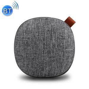 ENCEINTE NOMADE Enceinte Bluetooth gris mini haut-parleur sans fil
