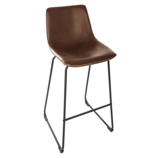 Tabouret H101 Cm Atmosphera Marron De L40 Bar 5 5 5 X 34 SqUVzMp