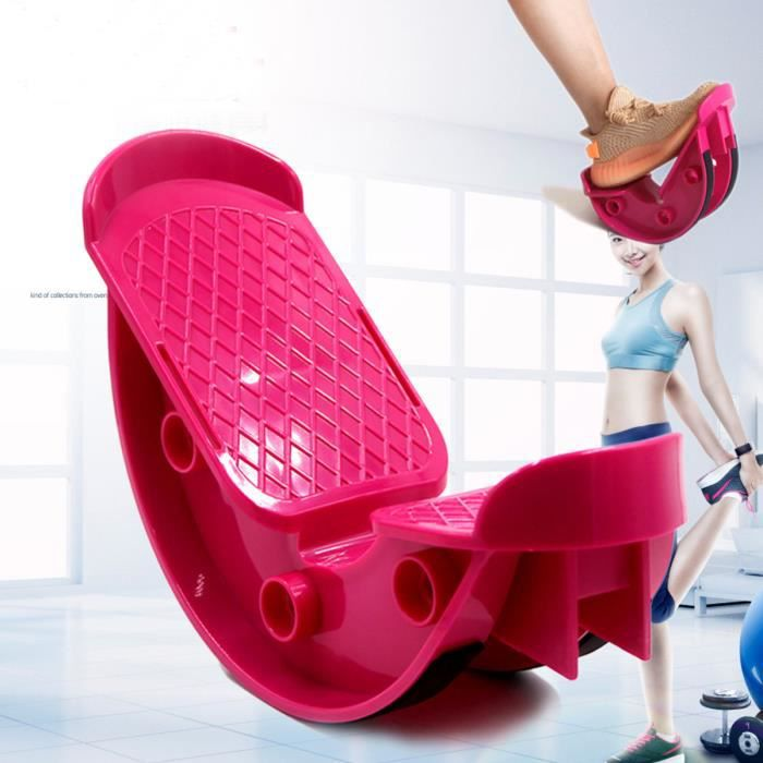 SUPER Pédalier Jambes Pied Fitness Yoga ROSE ROUGE