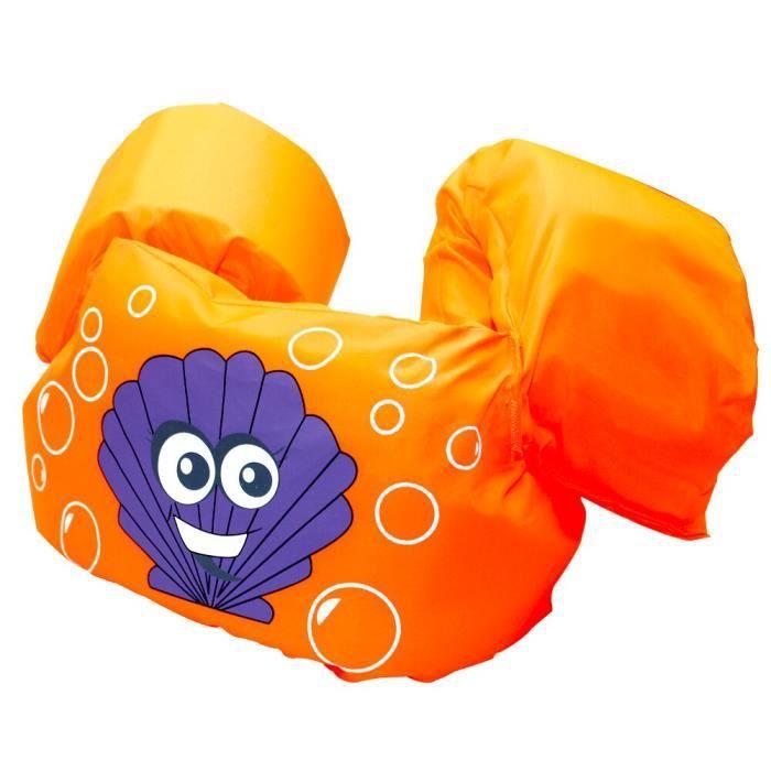 Bébé bras anneau gilet de sécurité flotteur mousse sécurité garçon fille veste maillot de bain gilet flottant pour enfan WL084