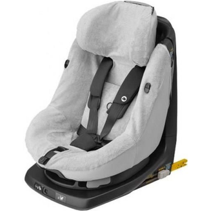 BEBE CONFORT Housse Eponge Axissfix - Axissfix Plus - Axissfix Air Fresh Grey