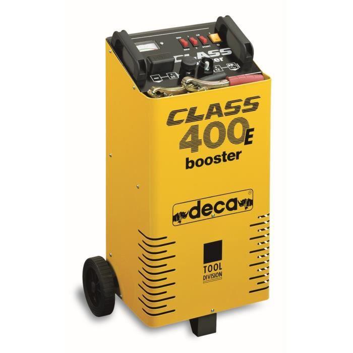 DECA Chargeur Démarreur de Batterie 12-24 Volts - 500 Amp/h