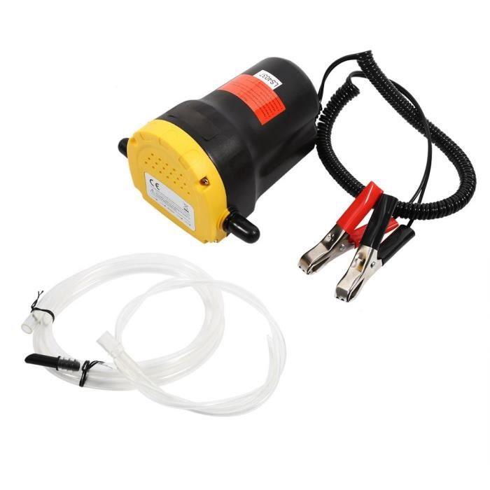 Aspiration électrique de pompe d'extracteur de transfert de fluide d'huile diesel 12V pour le bateau de moto de voiture HB014