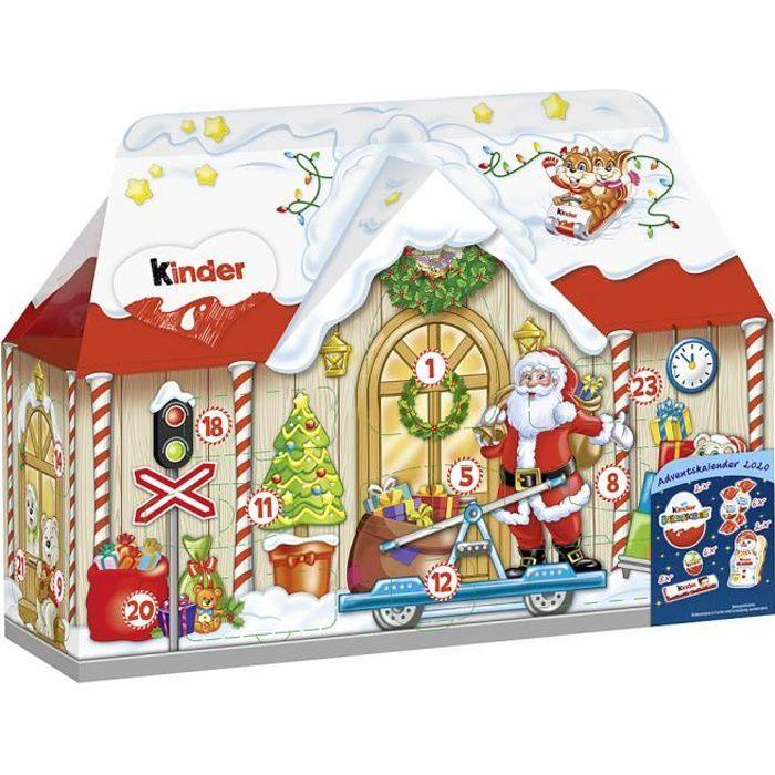 Ferrero Kinder Mix Calendrier de l'avent maison 3D Noël 234g