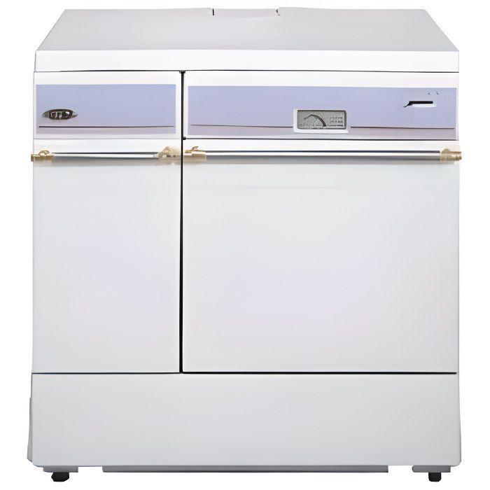 Godin 240152 Cuisinière à bois Blanc