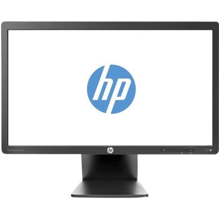 HP EliteDisplay E201 Écran LED 20- (20.0- visualisable) 1600 x 900 TN 250 cd-m² 1000:1 5 ms DVI-D, VGA, DisplayPort noir