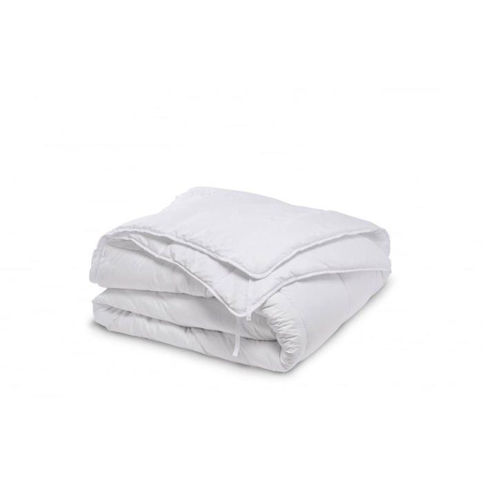 BLEU CALIN Couette Microfibre 4 Saisons 220x240cm