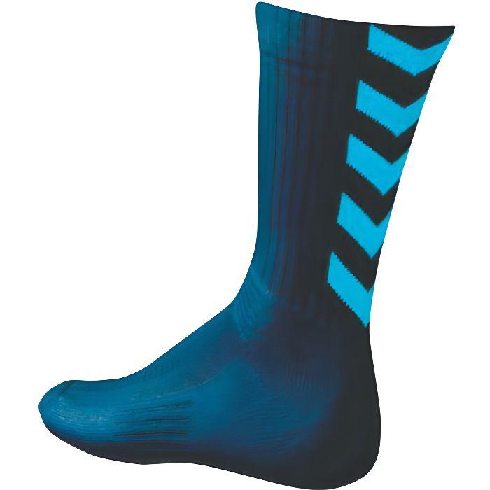 HUMMEL Chaussettes de Handball Authentic Indoor - Homme - Bleu Marine et Bleu atomique