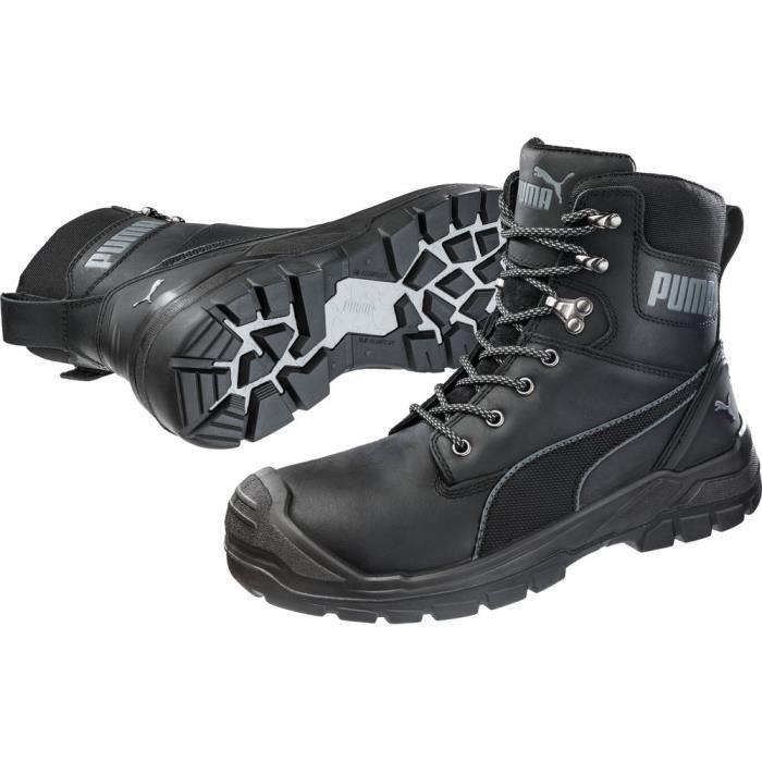 Chaussures de sécurité montantes Puma Conquest BLK CTX High S3 WR HRO SRC. - Noir - 41