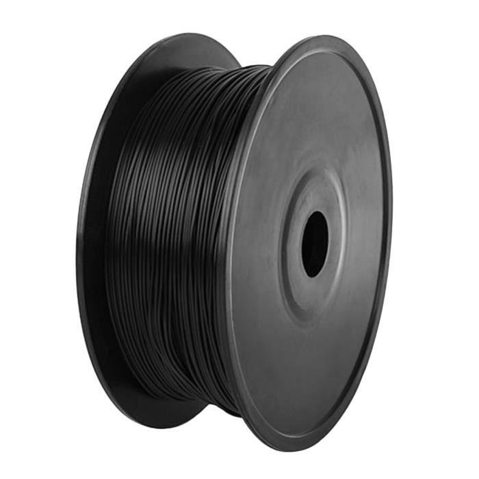 1,75mm Filament Pla 1kg Bobine pour Imprimante 3D Noir