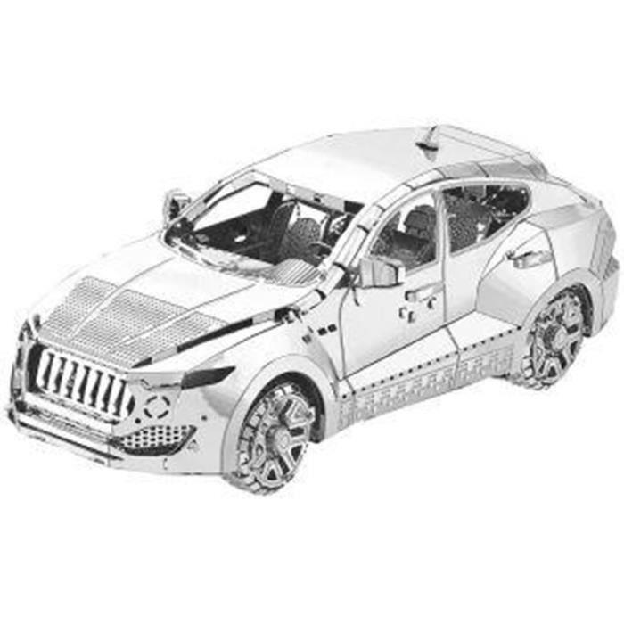 Maquette 3D en métal : Voiture - 49 pièces