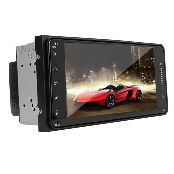 Zerone Autoradio 7in voiture stéréo Radio MP5 Player WiFi GPS Navigation convient pour Toyota Corolla