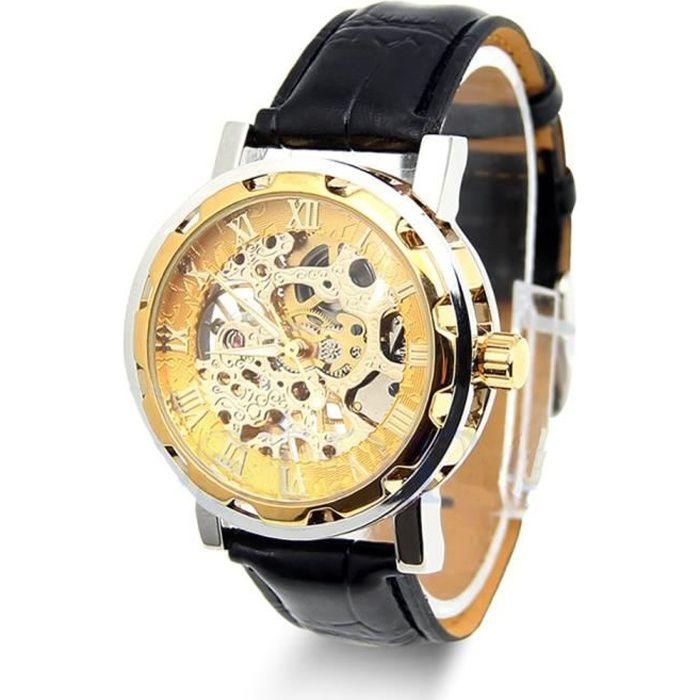 montre hublot bracelet cuir