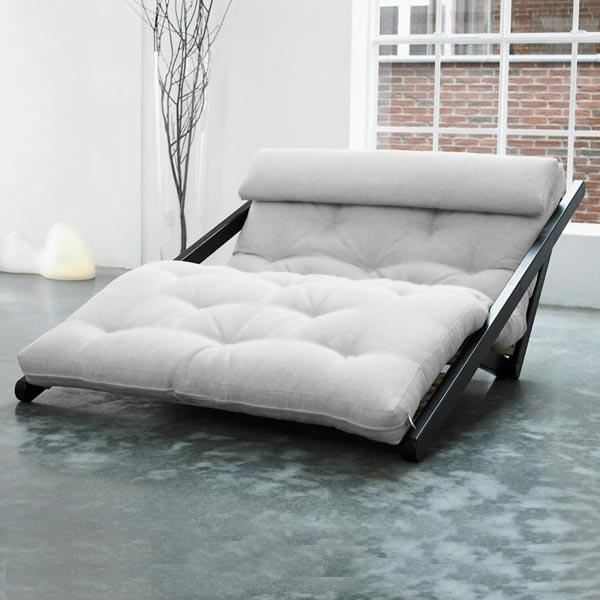 convertible figo 120 weng futon flax achat vente. Black Bedroom Furniture Sets. Home Design Ideas