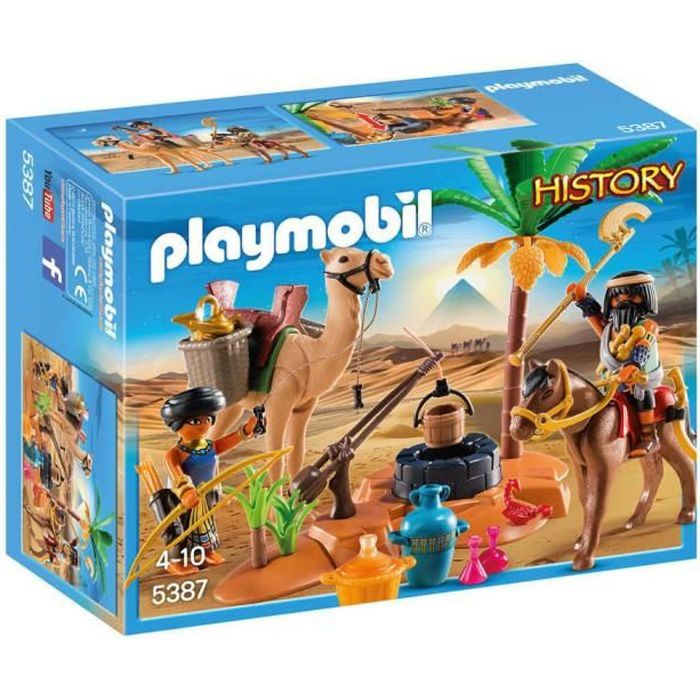 Photo de playmobil-5387-history-pilleurs-egyptiens-avec-tresor