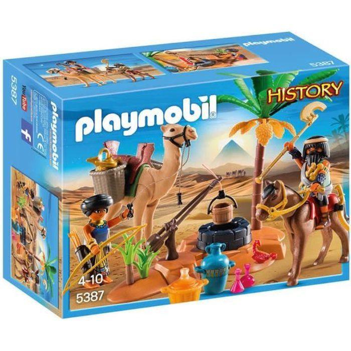 Photo de playmobil-5387-history-pilleurs-egyptiens-avec-tresor