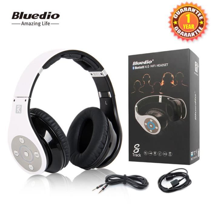 bluedio r casque bluetooth hifi sans fil et filaire. Black Bedroom Furniture Sets. Home Design Ideas