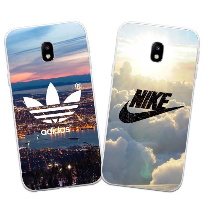 2 X Coque Samsung Galaxy J330 / J3 2017, Nike et A