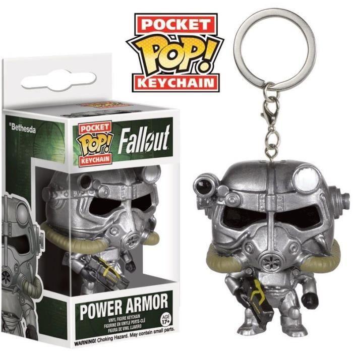 PORTE-CLÉS Porte-clé Funko Pocket Pop! Fallout : Power Armor