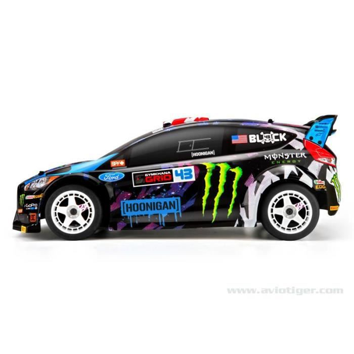 wr8 flux ford fiesta ken block 2015 voiture radiocommand e brushless electrique hpi racing. Black Bedroom Furniture Sets. Home Design Ideas