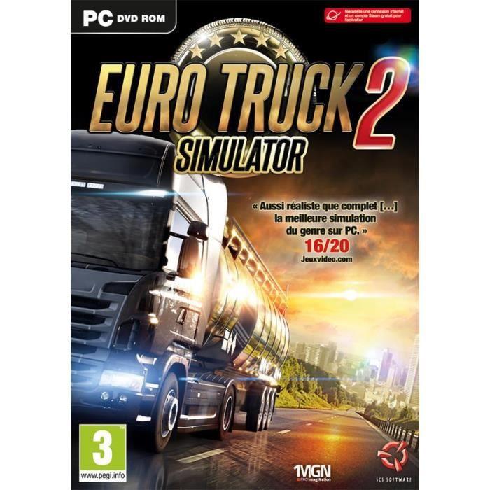 JEU PC Euro Truck 2 Simulator Edition Standard Jeu PC