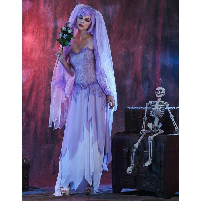 Zombies Horreur Sorcière tailleur neuf-femmes Carnaval déguisement costume