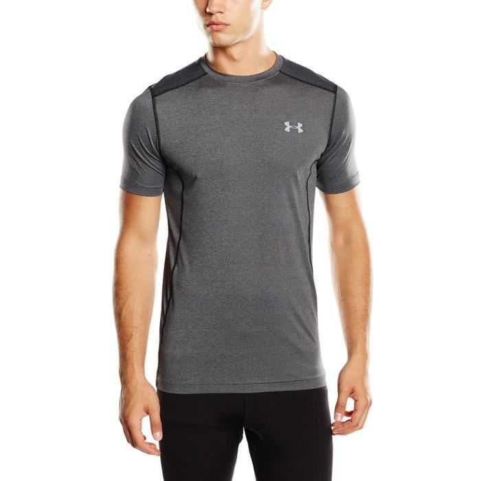 Under Armour Raid Short-sleeve Tee 3ZZMVK Taille-34 Noir Noir ... e184cd88da5