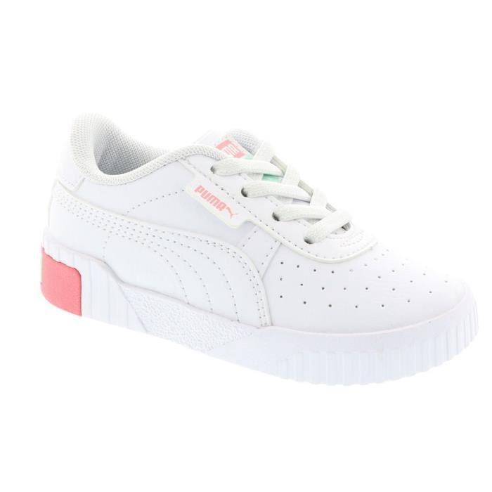 Puma Fille baskets Blanc - Cdiscount Chaussures