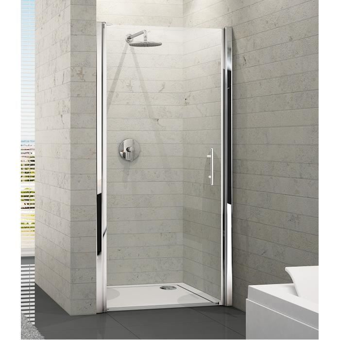 Porte douche pivotante for Portes de douches