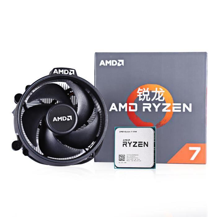 PROCESSEUR AMD RYZEN Processeur Intel 7 1700 CPU 3.0GHz Octa-