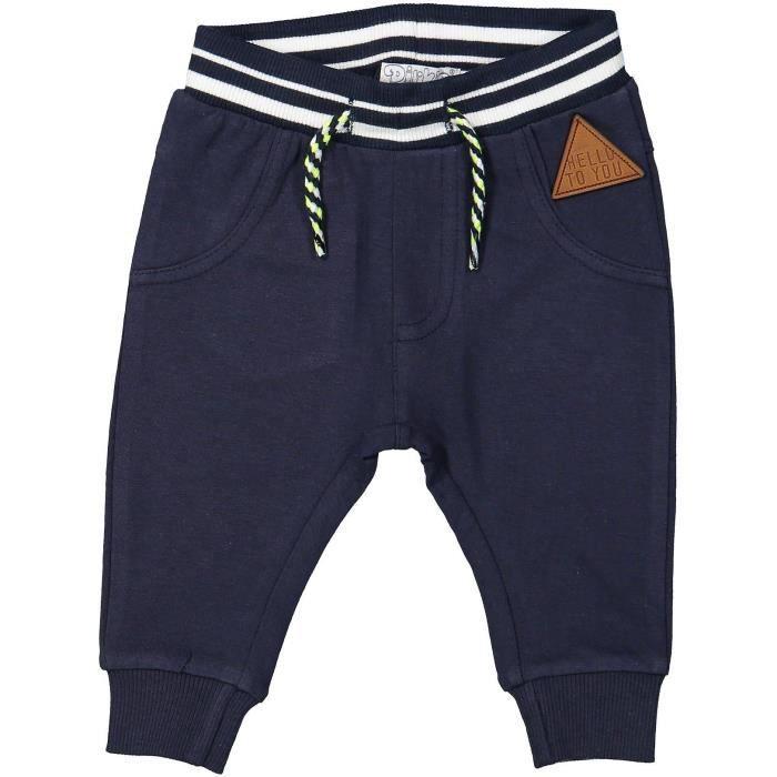 PANTALON DIRKJE Jogging Bleu marine Enfant Garçon