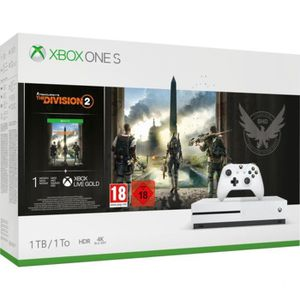 CONSOLE XBOX ONE Xbox One S 1To Tom Clancy's the Division 2