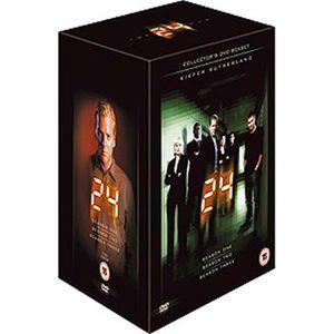 DVD SÉRIE DVD 24 heures chrono saison 1 a 3