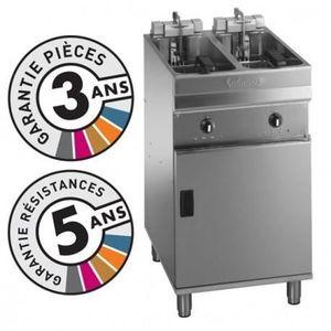 FRITEUSE ELECTRIQUE Friteuse électrique sur coffre - 2x 9-10 litres -