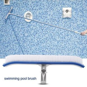PISCINE Brosse nettoyage de de de mur de piscine Poignée e
