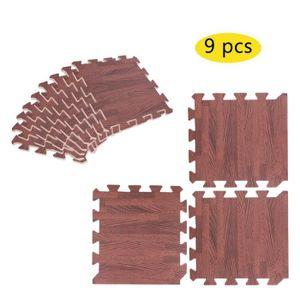 TAPIS PUZZLE 9pcs 30 * 30cm Puzzle tapis de jeu en mousse de ta