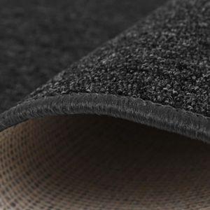 TAPIS Petits tapis Couleur : Anthracite Materiau : Tissu