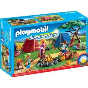 UNIVERS MINIATURE PLAYMOBIL 6888 - Summer Fun - Camping Tentes avec