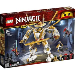ASSEMBLAGE CONSTRUCTION LEGO® NINJAGO® 71702 Le robot d'or
