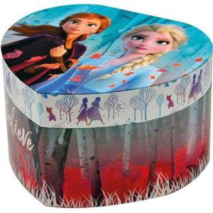 BOITE A BIJOUX Boite à bijou musicale coeur - La reine des neiges