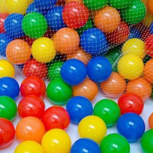 BALLES PISCINE À BALLES 50 Balles de jeu en plastique 5,5cm de diamètre se
