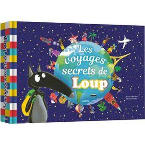 LIVRE 0-3 ANS ÉVEIL Livre Théâtre Les voyages secrets de Loup aille Un