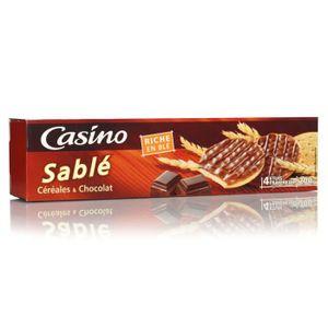 BISCUITS SABLÉS POULT Sablés nappés de chocolat au lait - 200 g