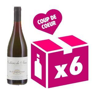 VIN ROUGE Costières-de-Nîmes - collection Bio vin rouge 6x75